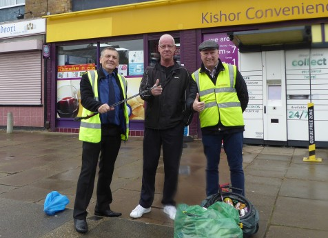 litter pick 23rd sept 17